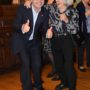 Keleti Ágnessel, a Nemzet Sportolója címmel kitüntetett ötszörös olimpiai bajnok magyar tornásszal; a magyar tornasport legeredményesebb versenyzőjével